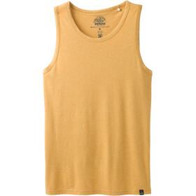 Prana Tank Miehet Hihaton paita , keltainen